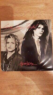 """Gene Loves Jezebel - Heatache Vinyl 7"""" Single  BEG161"""