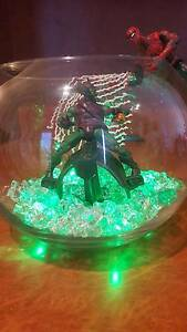 Spiderman and the green goblin led light creation Bentley Canning Area Preview