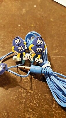 BEST CHRISTMAS & BIRTHDAY GIFT IDEAS FOR BOYS & GIRLS BLUE M&M HEADSETS,EARBUDS