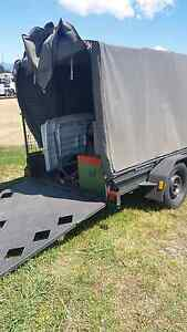 Steel Trailer  with canopy Midway Point Sorell Area Preview