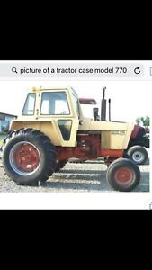 Case Model 770 Tractor