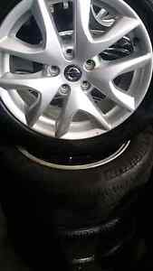Nissan rims 17inch at omg tyres Revesby Bankstown Area Preview