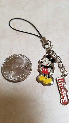 MICKEY MOUSE Charm Lisc Disney Zipper Pull Purse Tag Bracciale