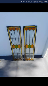 Stain glass door panels Yowie Bay Sutherland Area Preview