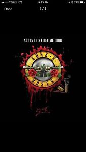 Guns N Roses Tickets in Toronto at ACC Oct 29 (at cost)