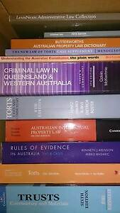 LAW SCHOOL LEGAL TEXTBOOKS Karrinyup Stirling Area Preview