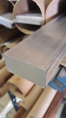 2 X 4 Aluminum 6061 Flat Bar Mill Stock - 8 Long