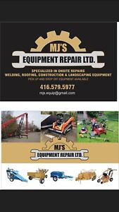 Small engine and construction equipment repair!!!!