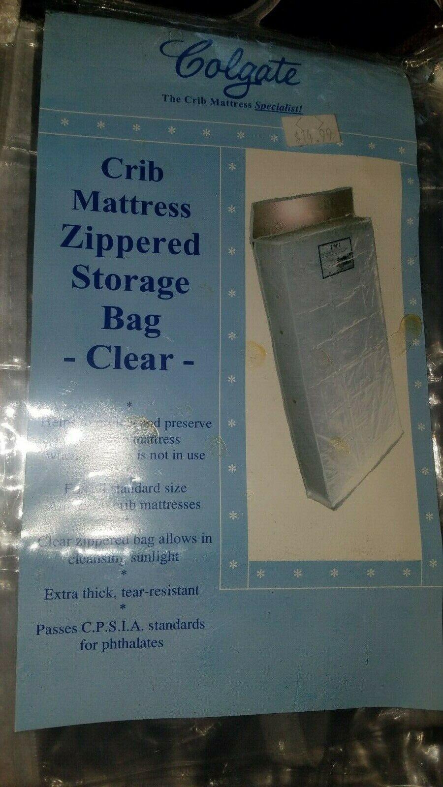Colgate Zippered Crib Mattress Storage Bag, Waterproof, Dura