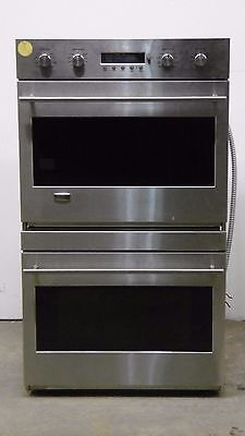 """GE Monogram ZET2SMSS 30"""" Stainless Double Electric Convection Wall Oven #125"""