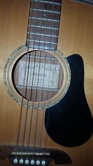 Alvarez RD8 Dreadnaught acoustic steel string guitar.