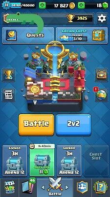Lvl 11 Clash Royale Account 3900  Trp 10K  Gold  80 81  13 Legends Android   Ios
