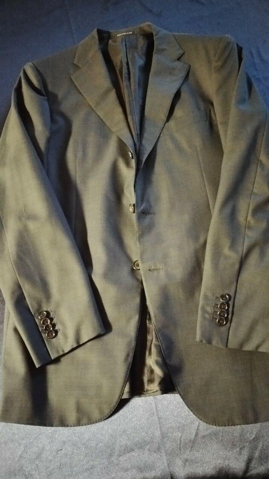 Caruso Anzug dunkelblau Gr. 52  7L 2-3 Knopf rollend, Hose