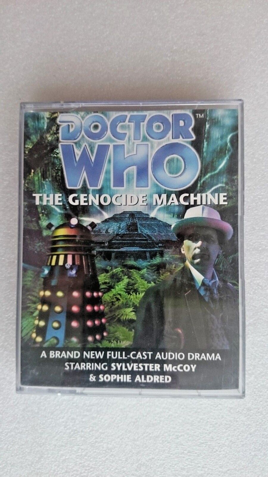 Doctor Who The Genocide Machine  (2 x Cassette-Audio, 2000) - Sylvester McCoy