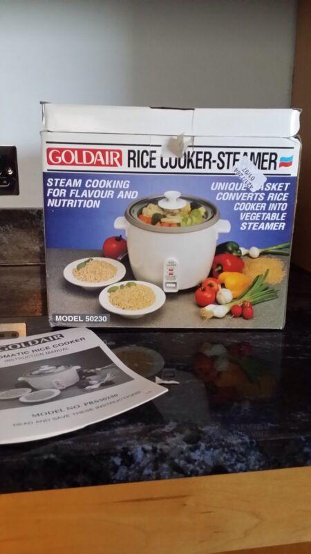 Goldair+Rice+Cooker-Steamer.+Unused.