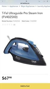 PRICE REDUCED- MUST GO T-FAL IRONING
