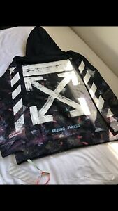 Off-White Galaxy Hoodie New in Bag