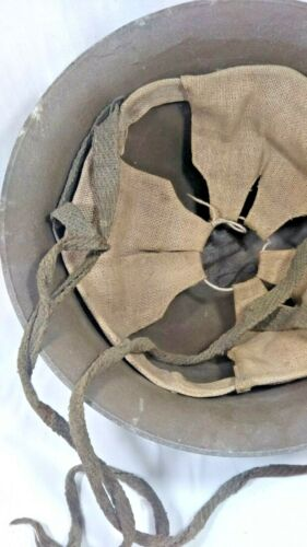 Original WW2 Japanese Helmet Lightweight type Number 578 Militaria Liner Good