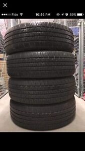 225/65R17 Goodyear Allegra summer/all-season 450$ ONLY