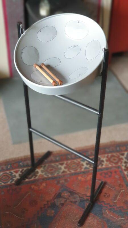 Jumbie Jam Grey Steel Pan Kit Beginner Steel Drum JJ1058-GY with 2 song books
