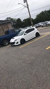 2010 mazdaspeed 3 with lots of goodies