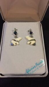 Storrs Glacier Pearle Polar Bear Earings Forest Lake Brisbane South West Preview