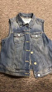 GARAGE DENIM VEST