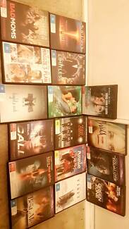 Set of dvd