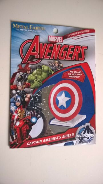Avengers Metal Earth Captain America's Shield