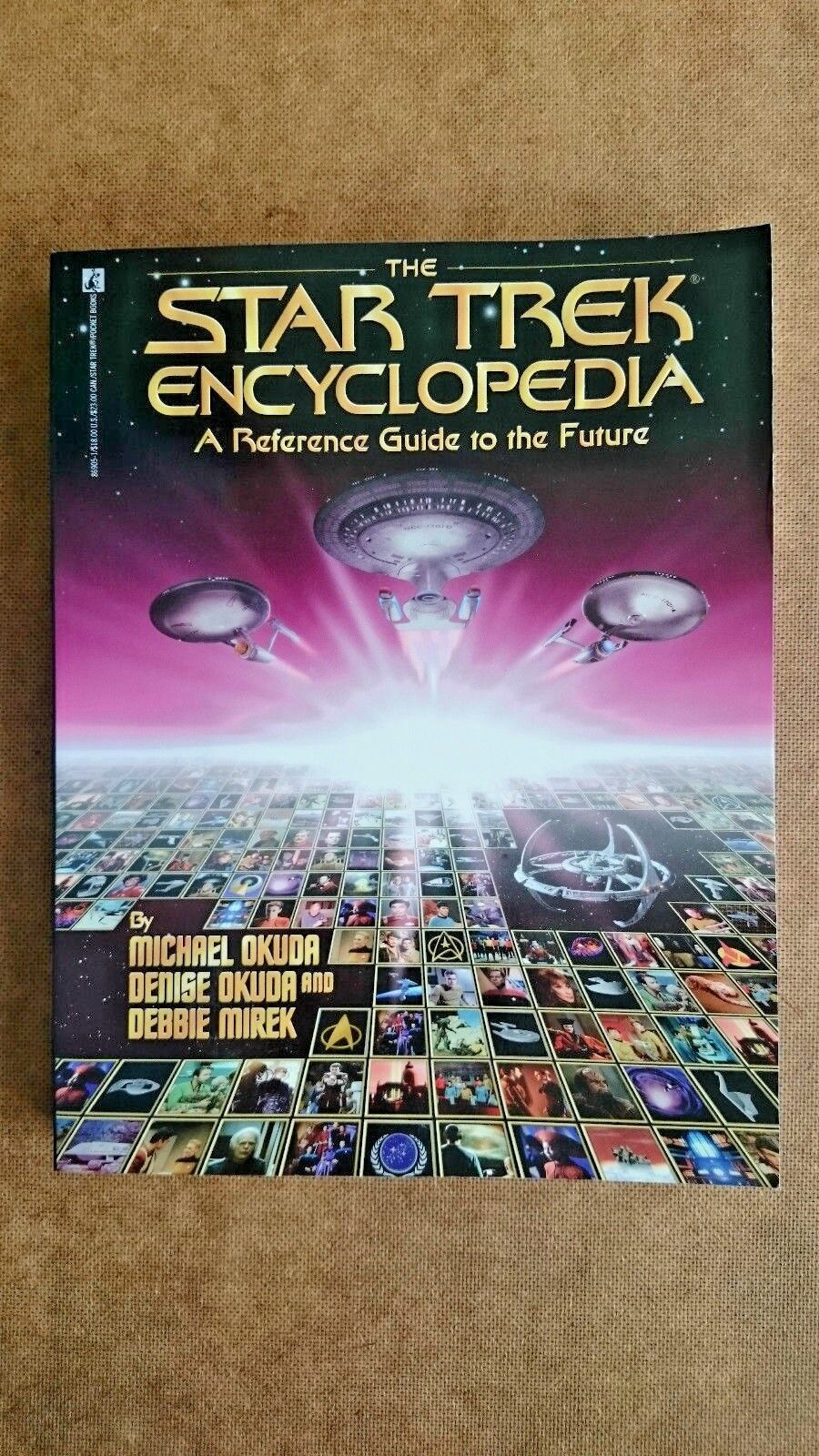 Star Trek  Encyclopedia: A Reference Guide to the Future (Paperback 1994)