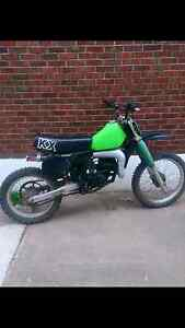 1981 Kawasaki Kx125 for sale Or trade for sled