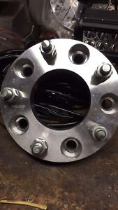"""4 new 1.25"""" wheel spacers 5x5.5"""