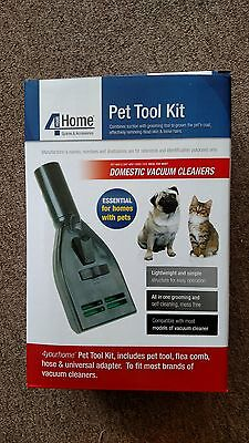 VACUUM vaccum CLEANER PET HAIR GROOMER ATTACHMENT DOG CAT BRUSH COMB GROOM TOOL for sale  Shipping to India