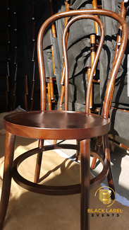 Brown Bentwood Chair Perth