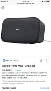 Google home max no tax!!