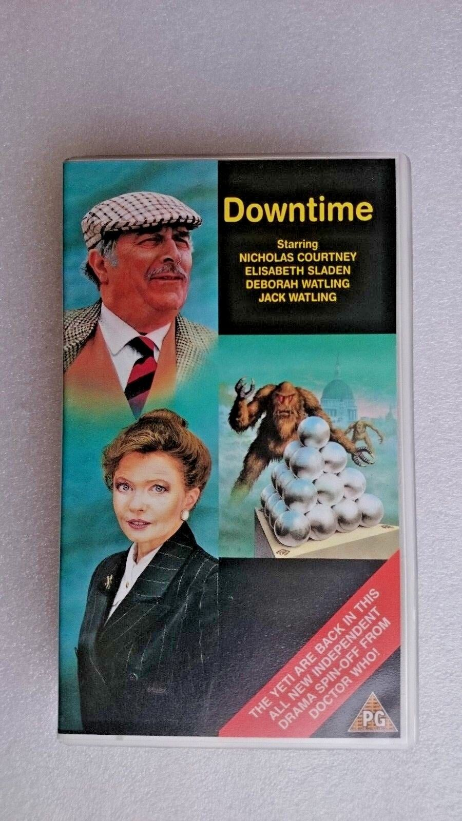 Downtime (VHS) - Nicholas Courtney