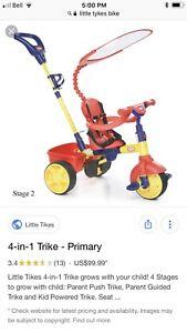Little tykes 4 in 1 bike