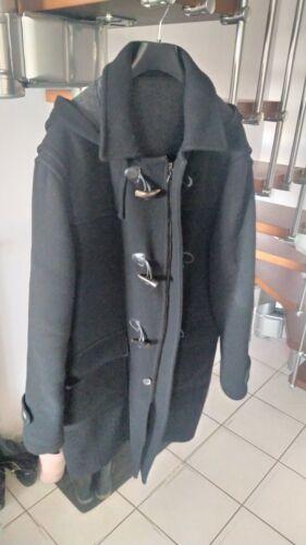Manteau duffle-coat homme noir en excellent état xxl