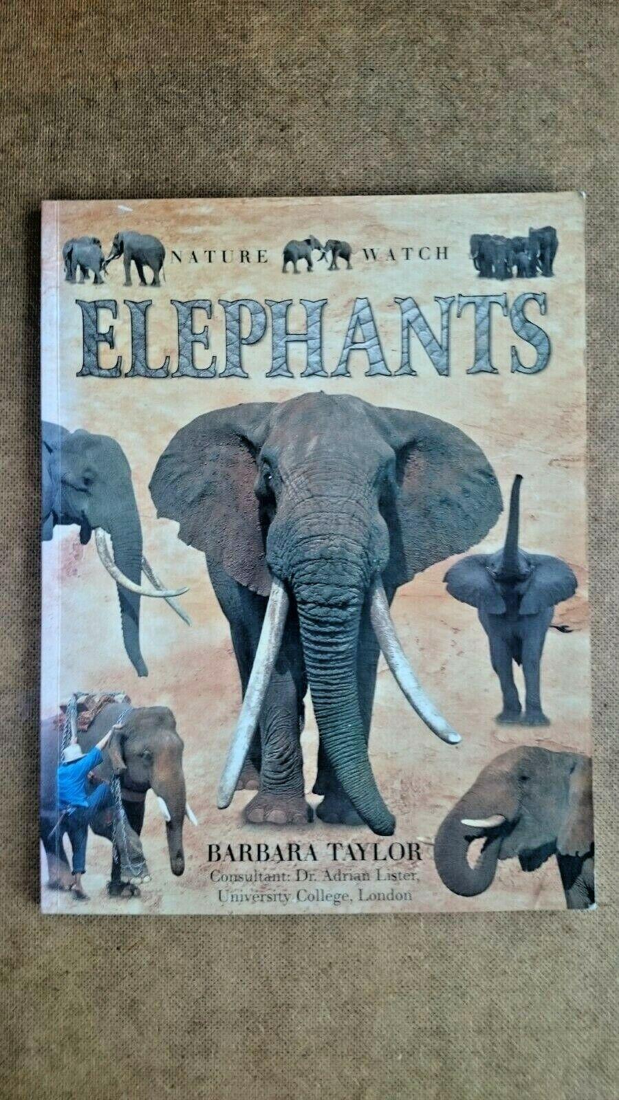 Nature Watch Elephants Book (Paperback 1999)