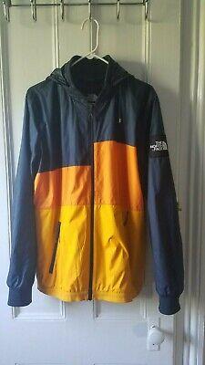 Rare North Face Anorak Jacket, Tri-Colored, Black Label Collection