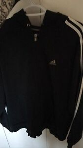 Addidas track suit with hoodie