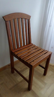 Teak wooden garden / patio chair, excellent condition, unused