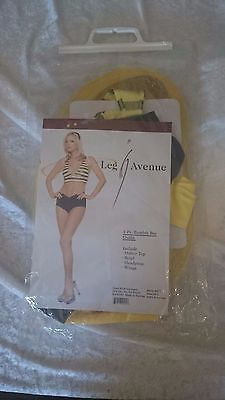 Leg Avenue Bumble Bee Sexy Adult Costume LA 8677 Brand New with Tag Size (Leg Avenue Bumble Bee Kostüm)