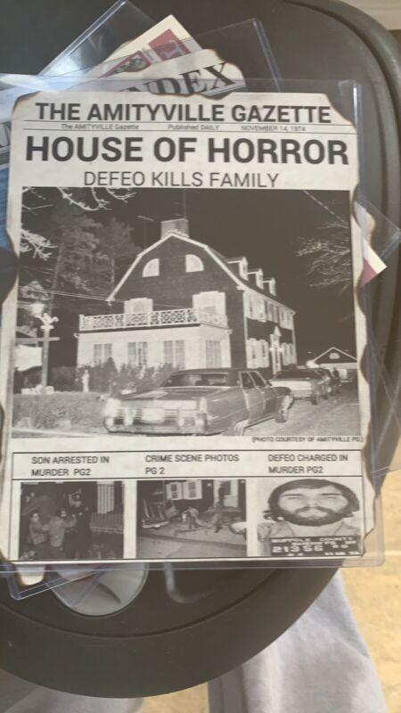 Amityville Horror News Print