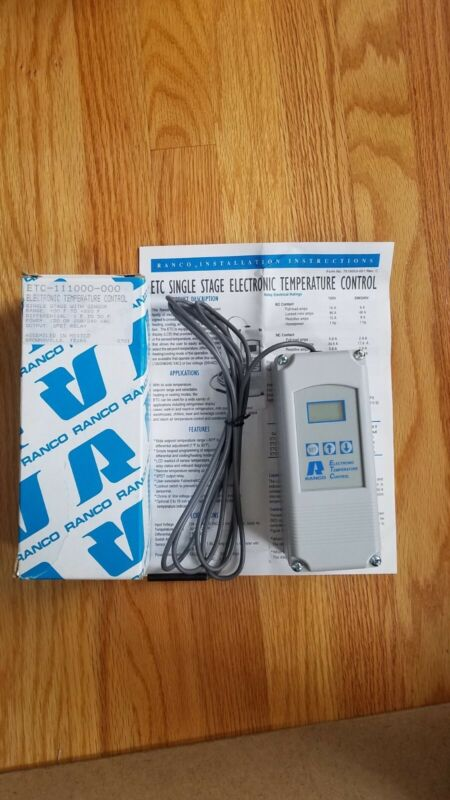 Electronic Temp Control, 120 or 208/240  VAC ETC-111100-000
