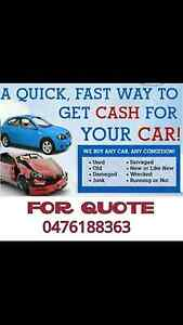 Cash for unwanted scrap cars removal Blacktown Blacktown Area Preview
