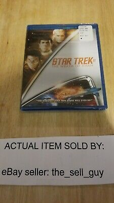 STAR TREK II 2 THE WRATH OF KHAN BLU RAY BRAND