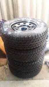 Yokohama tyres with sunraysia rims Ballajura Swan Area Preview