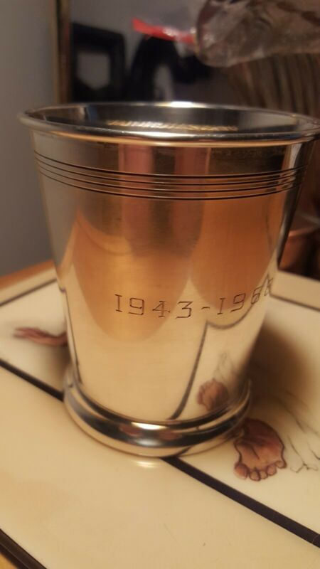 REED & BARTON STERLING SILVER MINT JULEP CUP H14 Kentucky Derby