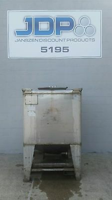 Stainless Steel Tote Tank 360 Gallon Ibc Tank Listed Low To Move Fast Sku 25